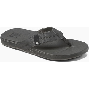 2019 Reef Mens Cushion Bounce Phantom Sandals / Flip Flops Black RF0A3FDI